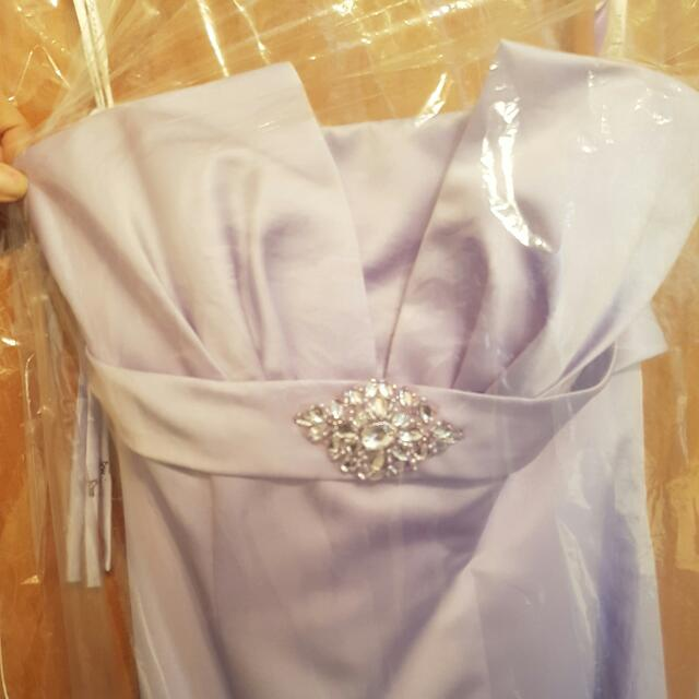 🆕 Mia Solano Soft Lilac Formal/bridesmaid Dress