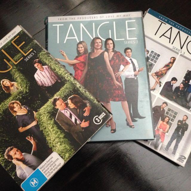 Tangle TV Series DVDs, All 3x Seasons