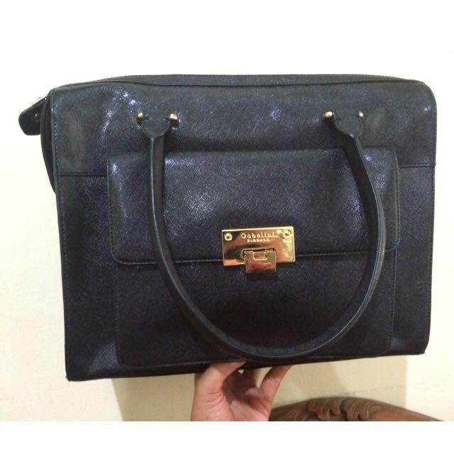 Tote Bag Gobellini Black