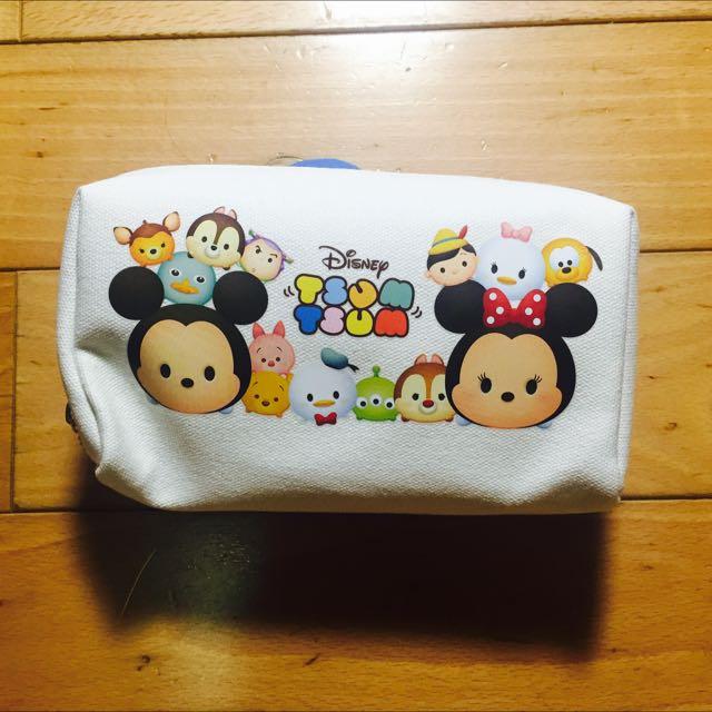 全新Tsum Tsum 白色帆布小包⭐️