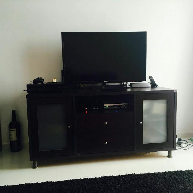 TV Cabinet With Ample Storage Space
