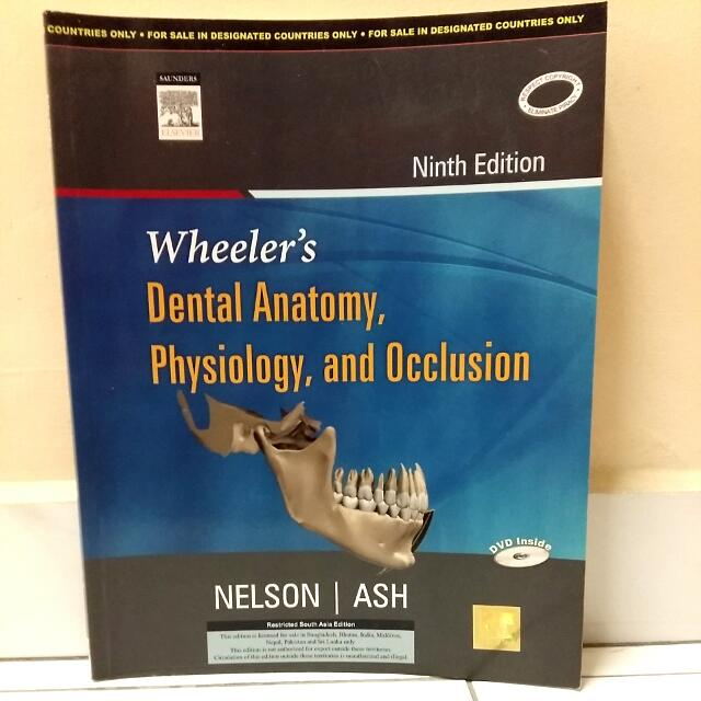 Wheeler\'s Dental Anatomy, Physiology & Occlusion - Dentistry ...