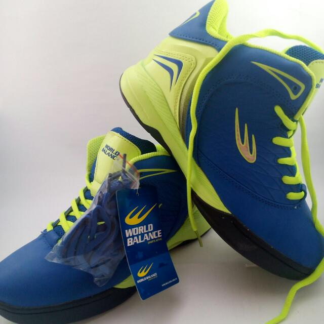World Balance Clean Shot Basketball Shoes Sports On Carousell