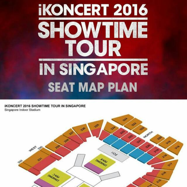 WTB VIP IKONCERT SHOWTIME TOUR IN SINGAPORE