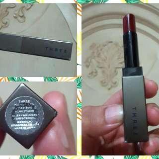 THREE Lipstick - Scarlet Noir