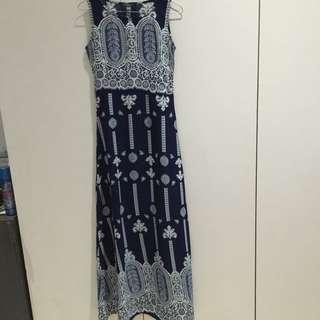 Contempo Long Dress