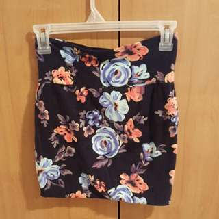 SWS Floral Skirt