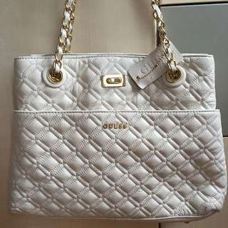 GUESS Genuine Leather Tote (bag)