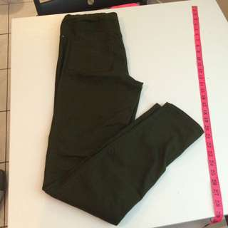 Olive Green Jegging H&M