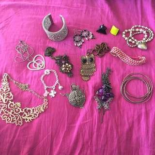 Bulk Lot Of Jewellery