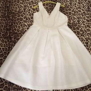 White Forever New Dress