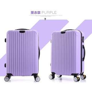 2016 新款 行李箱 登機箱 可以擴大 20吋 淺紫 買就送贈品