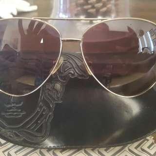 Genuine VERSACE Aviator Sunglasses