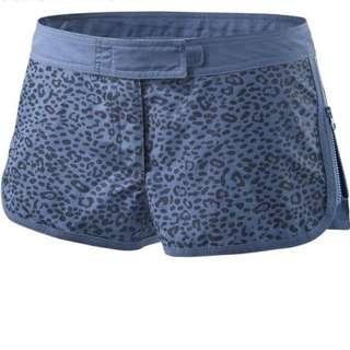 二手 stella mccartney x adidas 藍色豹紋點點慢跑褲