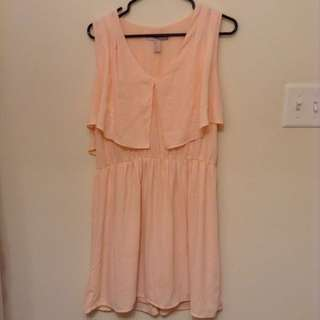 Forever 21 Peach Dress L
