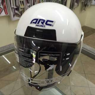 Helmet ARC Astro White