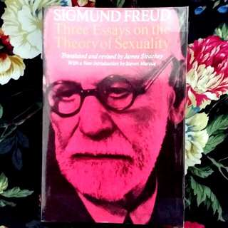 **RESERVED** Three Essays On The Theory Of Sexuality By Sigmun Freud
