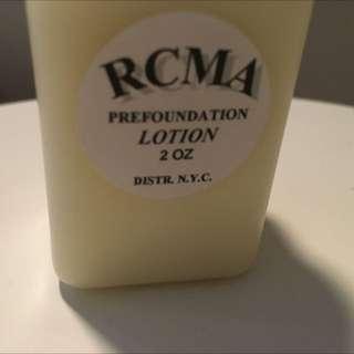 RCMA Pre Foundation Lotion.