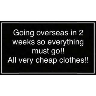 Going Overseas!