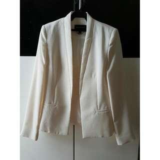 Mango White Suit / White Blazer