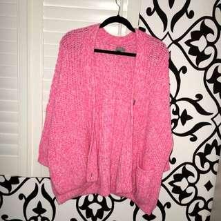 ASOS Knit Jumper Size Medium Pink
