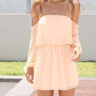 SABO SKIRT Off Shoulder Dress Size 8