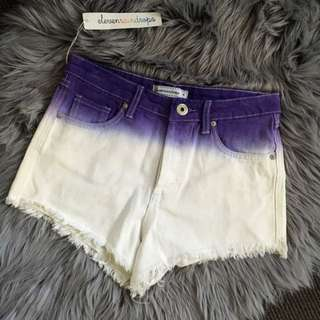 HIGH WASITED SHORTS size 8 Tie Dye
