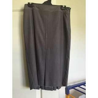 Grey Tokito Skirt