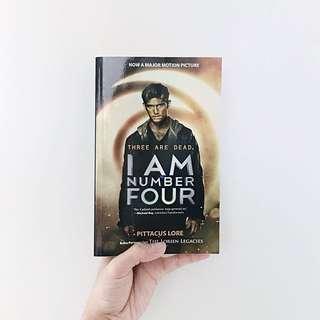 I Am Number Four (Lorien Legacies #1)