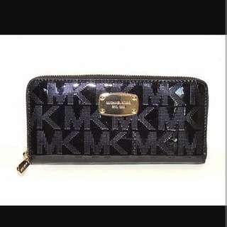 Authentic Michael Kors Metallic Long Wallet