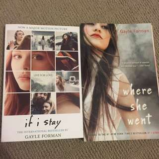If I Stay/ Where She Went- Gayle Forman