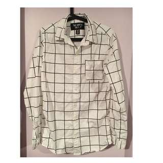 B&W Grid Shirt