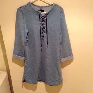 Denim Glassons Dress