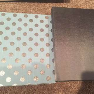 Two Pack Photo Albums