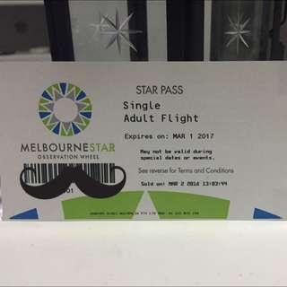 Melbourne Star Pass