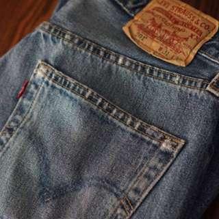 Levi's Vintage High Waisted Boyfriend Jeans
