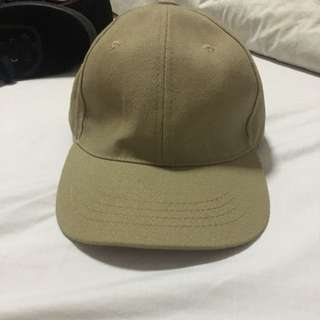 Plain Khaki Cap
