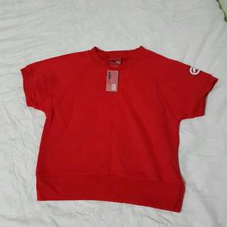 Ecko Red Fleece Top Size Small