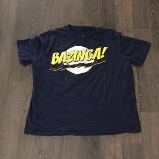 The Big Bang Theory Shirt Size XL