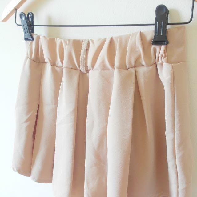 雪紡寬鬆褲裙