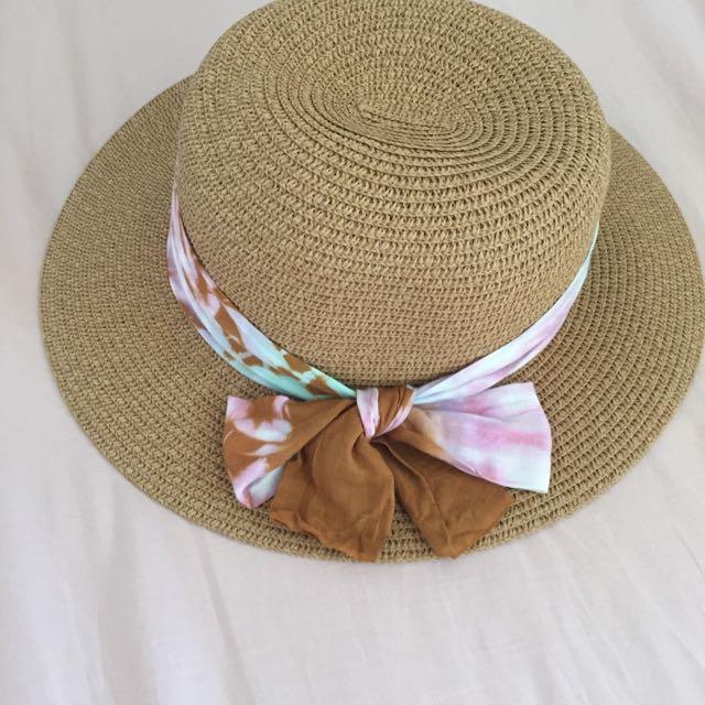 夏天 帽子 草帽