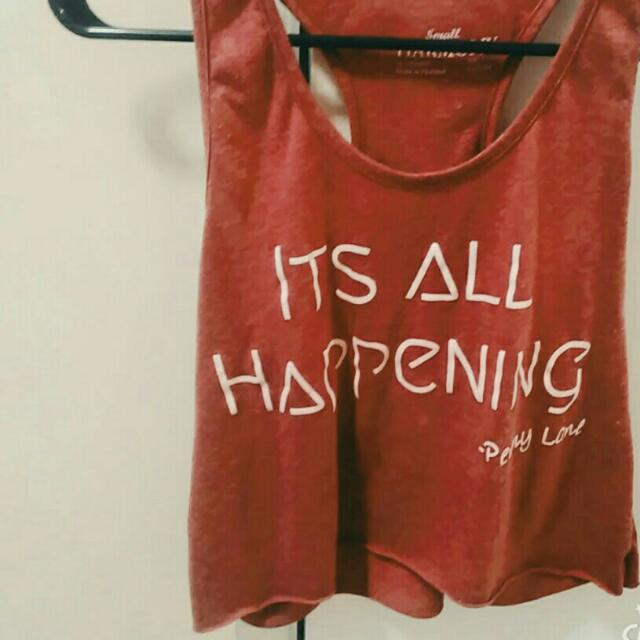 "Almost Famous Penny Lane ""It's All Happening"" Crop Tank (from Harmony By Earthwinds)"