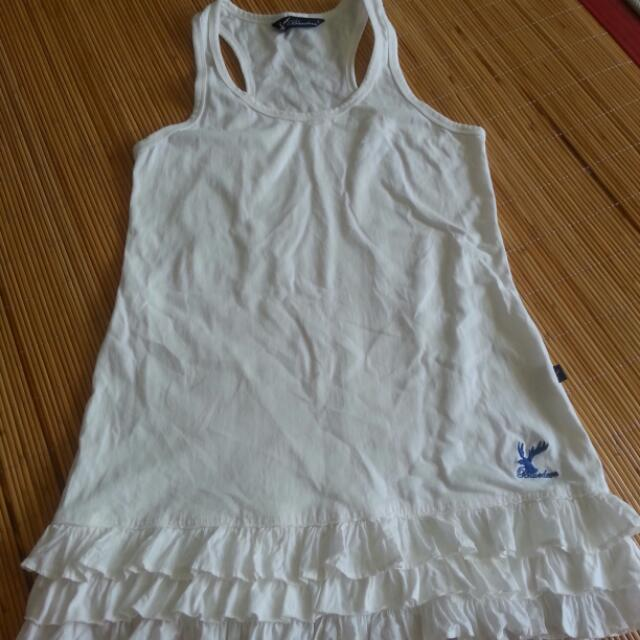 Amorican   Bluedeer白色背心裙