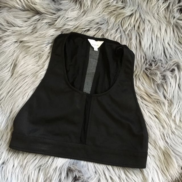 AUGUST Black Crop Size 10