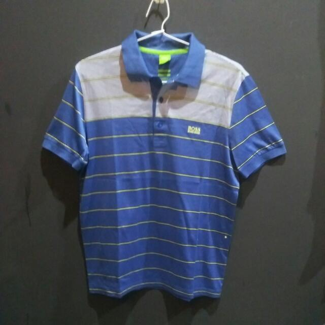 Baju Kerah Hugo Boss Original