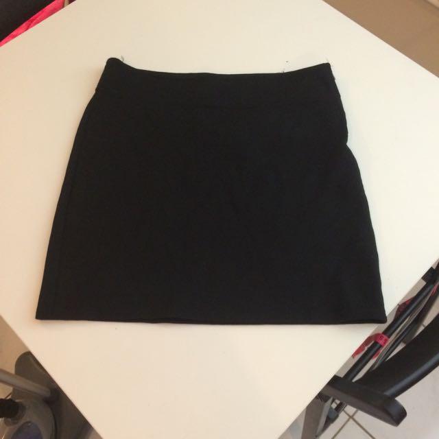 Black Gap Mini Skirt