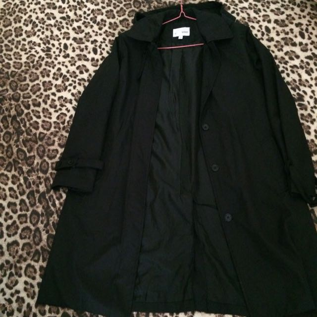 Black Lengthy Coat