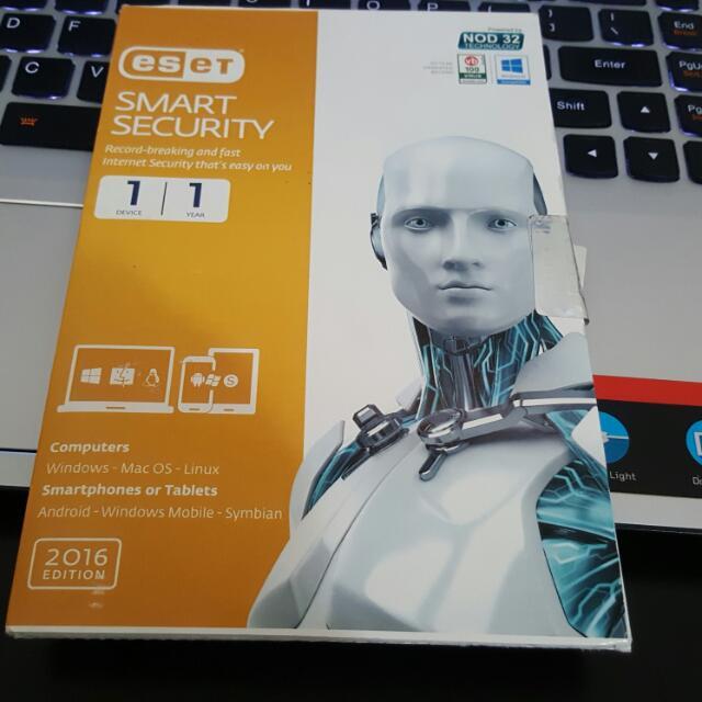 ESET SMART SECURITY 網路安全套裝 1年1PC