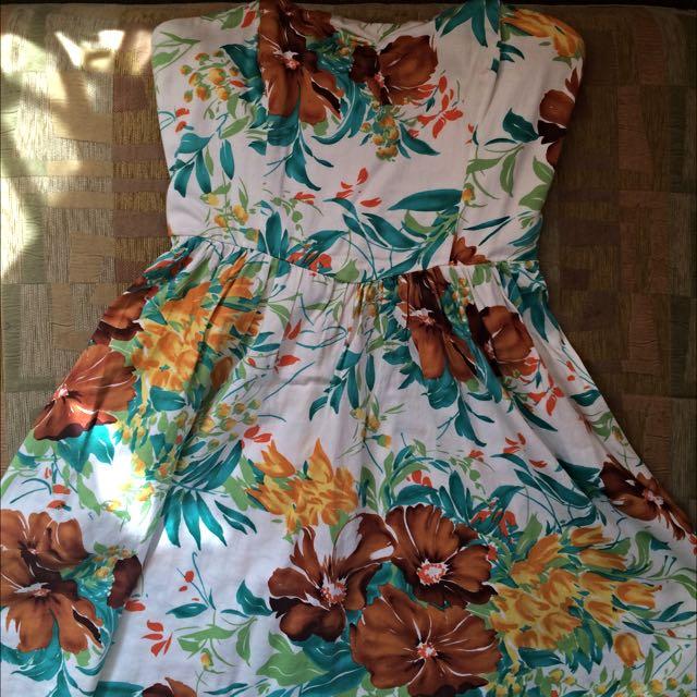 F21 Sweetheart Summer Dress