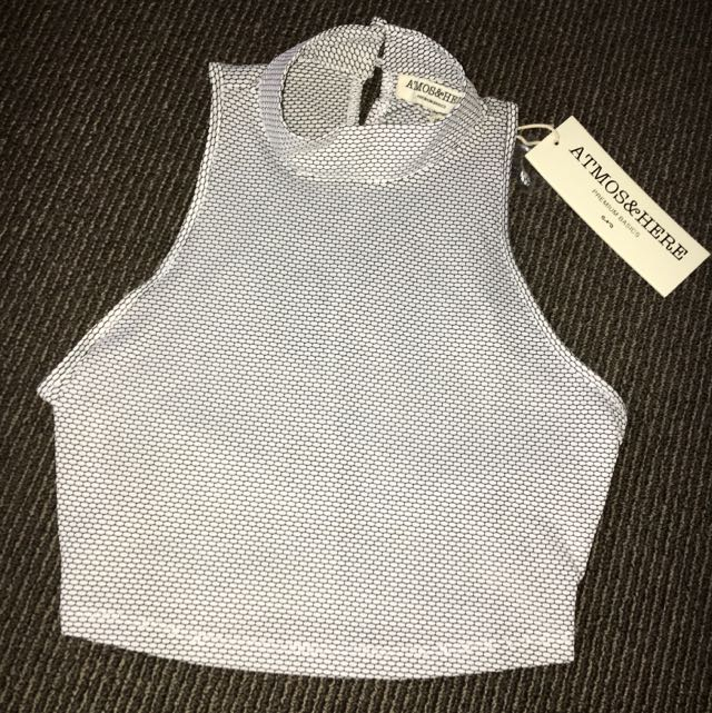 HIGH NECK Top Brand New Size 8
